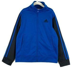 ✨3/$25✨Adidas Classic Blue Zip-Up Track Jacket - 8